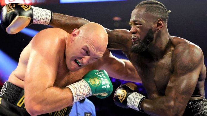Fury stopped Wilder in the seventh round of their Las Vegas fight