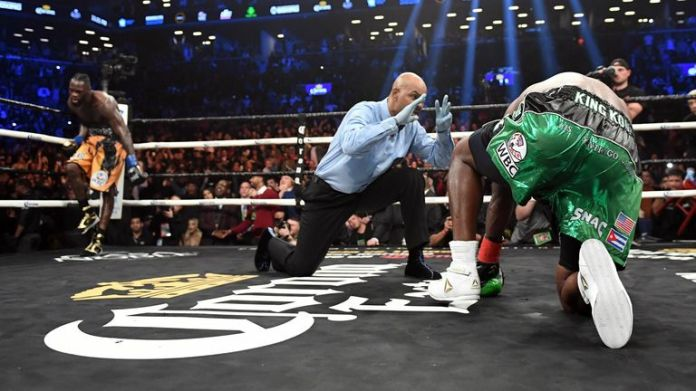 Ortiz twice succumbed to comeback KOs from Wilder