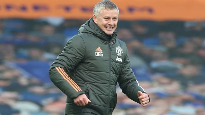 Ole Gunnar Solskjaer saw his side beat Everton 3-1