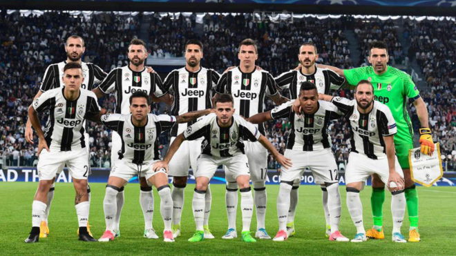 Juventus  lineup against Real Madrid for the Champions League final     Juventus  lineup against Real Madrid for the Champions League final