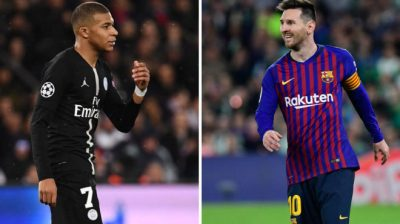 Barcelona: Only Mbappe can rival Messi   MARCA in English