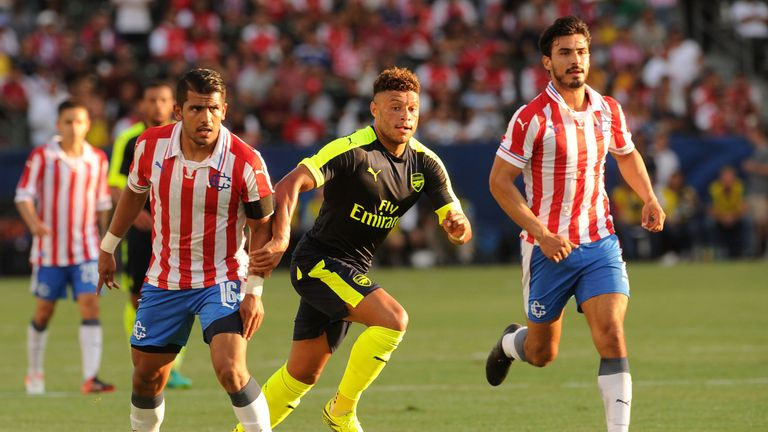 Oxlade-Chamberlain scored a fine second for Arsenal