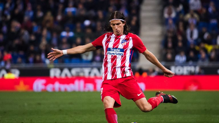 Atletico Madrid defender Filipe Luis suffers broken leg ahead of World Cup   Football News   Sky ...