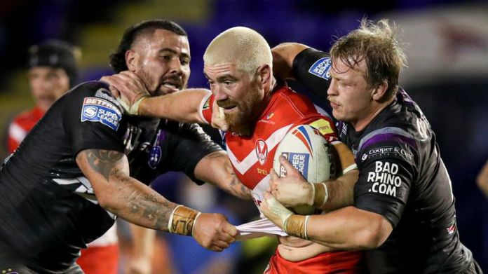 St Helens' Kyle Amor says he is 'over the moon' to sign a new deal