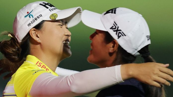 Minjee Lee and Celine Boutier both ended the week on 10 under