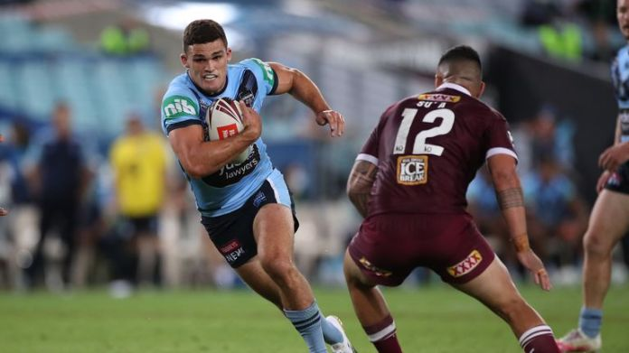 Nathan Cleary answered his critics with an impressive display for the Blues