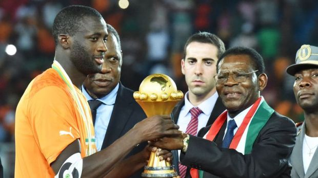 Toure lifted the Africa Cup of Nations earlier this year