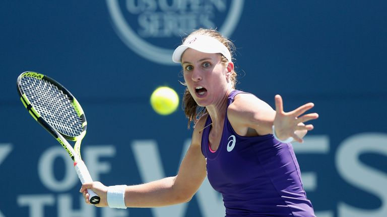 Konta has enjoyed a fine season so far after winning her first WTA title