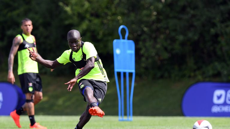Kante has impressed Conte since reporting for pre-season training