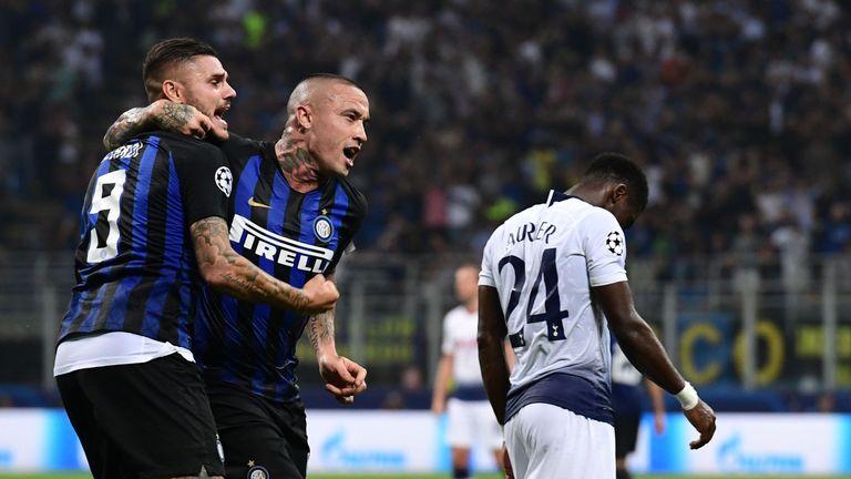 Inter 2 - 1 Tottenham - Match Report & Highlights