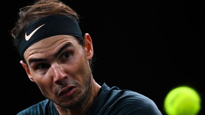 Rafael Nadal lost to Alexander Zverev in the Paris Masters semi-finals