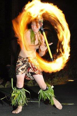 Fire Dancer Lavalava