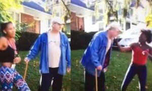 Two Black Teen Girls Arrested For Attacking Elderly White Man & Posted It On Facebook
