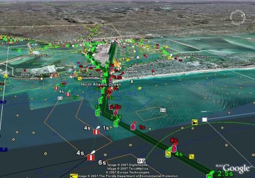 EathNC - ENC Chart For Google Earth