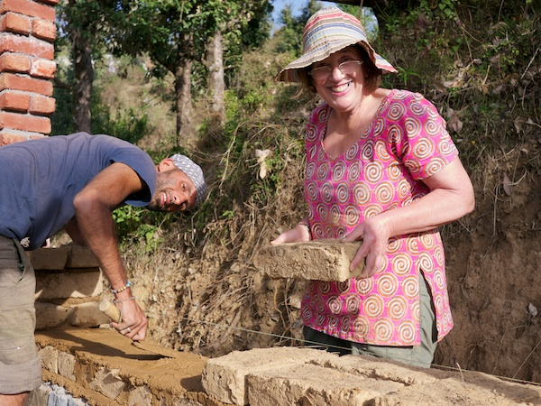 Earthen masonry workshop