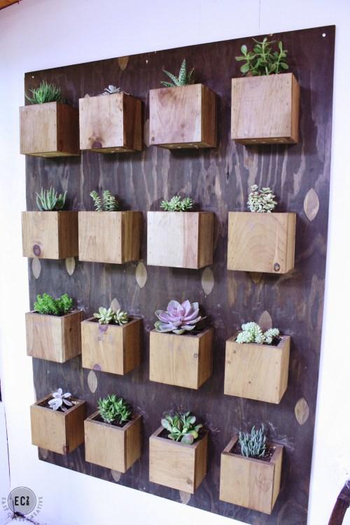 Medium Of Wall Indoor Garden
