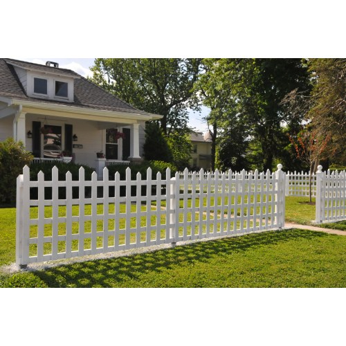 Medium Crop Of White Picket Fence House