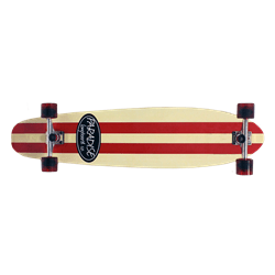 "Paradise Red Stripe 43"" Complete"