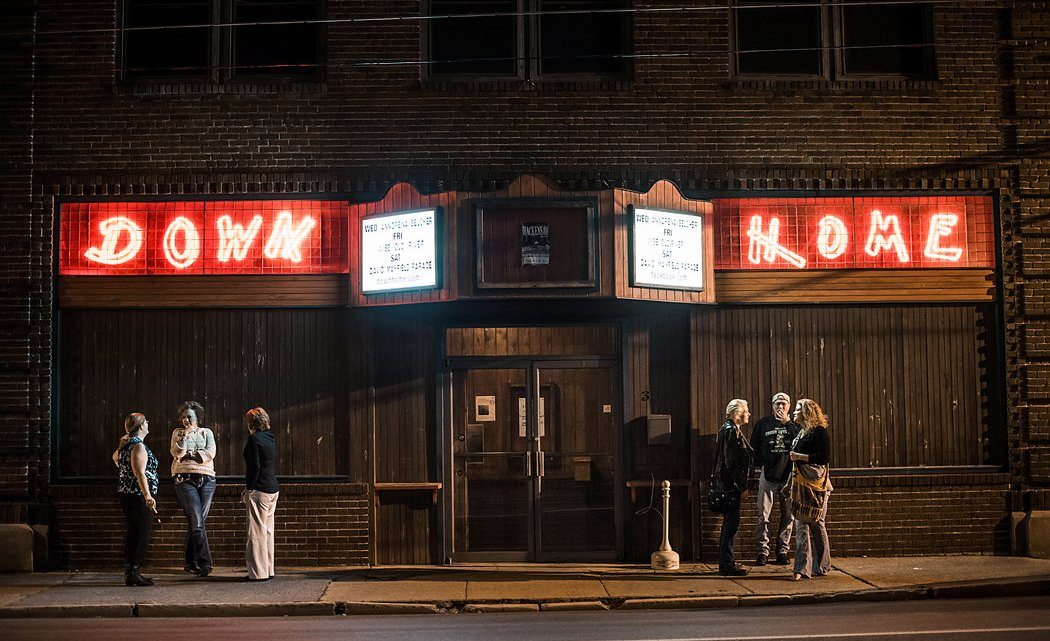 The Down Home, co-owned by Ed Snodderly, is known as one of the longest running music venues in the region. Photo by: Mike Belleme, New York Times