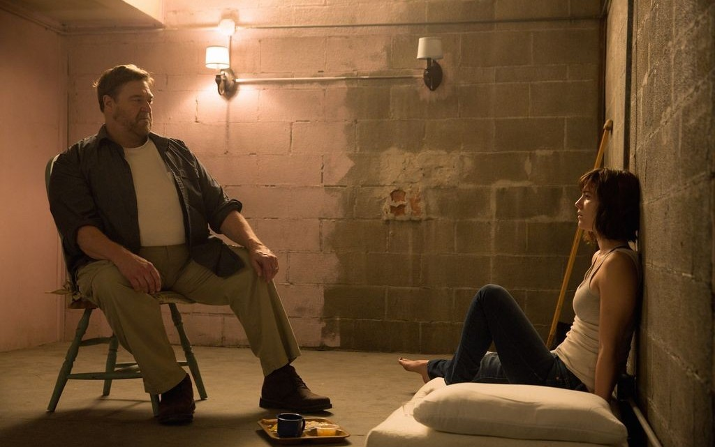 "John Goodman and Mary Elizabeth Winstead star in the new thriller ""10 Cloverfield Lane."" (Contributed)"