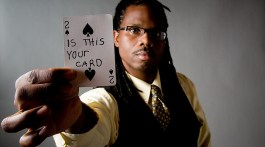 Ran'D Shine performs a variety of magic, from card tricks to mind-reading. (Contributed)