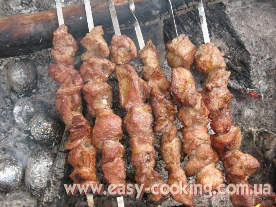 Рецепт вкусного и простого шашлыка из свинины