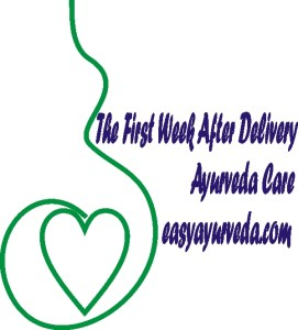 Ayurvedic post natal care