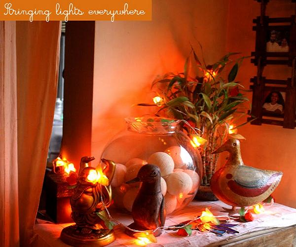 Diwali decorations ideas 2014 for office and home easyday for Diwali home decorations pics