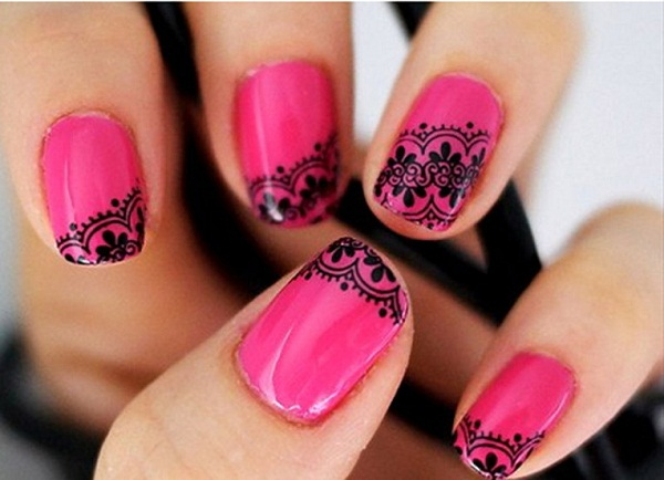 pink-nail-art-design