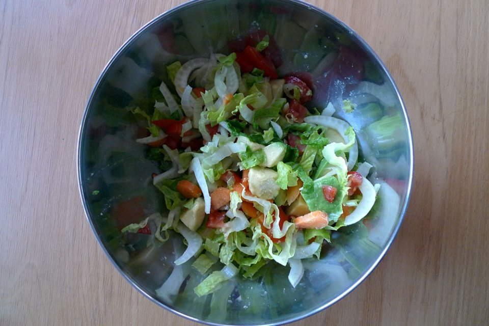 Green salad. Eat it most days.