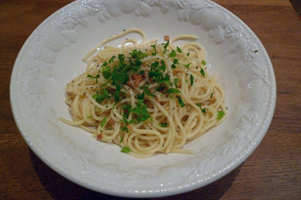 Poor man's pasta - if you've got 10 minutes, you've got dinner