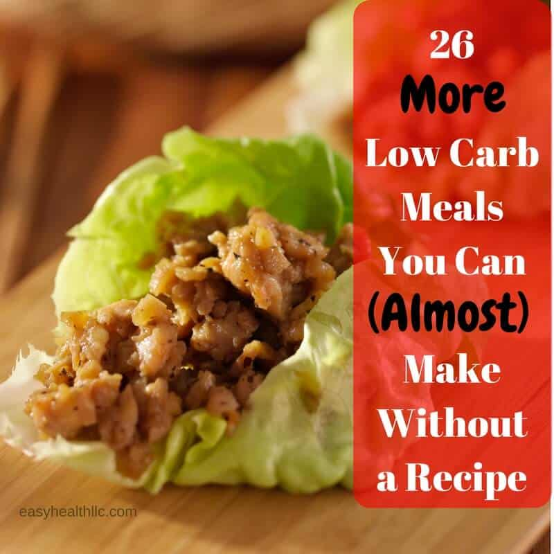 Recipes without carbohydrates ideal weight for 5 feet girl for Healthy recipes for dinner low carb