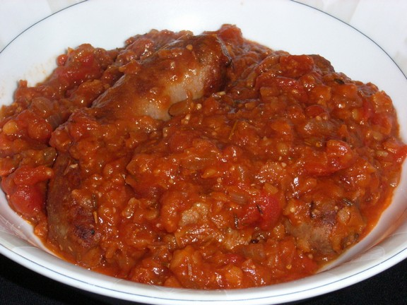 Italian Sausage and Red Lentil Stew recipe photo
