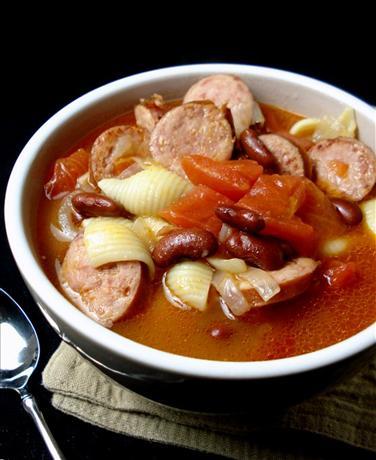Italian Smoked Sausage Bean Soup Recipe