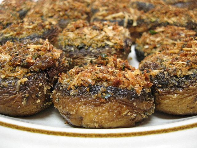 Italian Stuffed Mushrooms Recipe