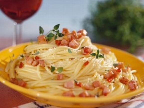 Spaghetti alla Carbonara recipe photo