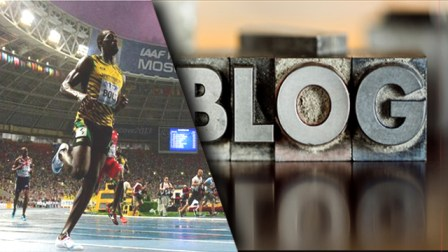 Usain Bolt Blogging Lessons