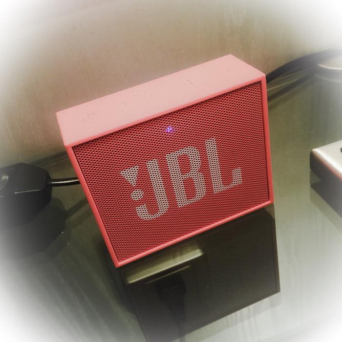 BluetoothスピーカーJBL GOを発売日前に上海で入手した