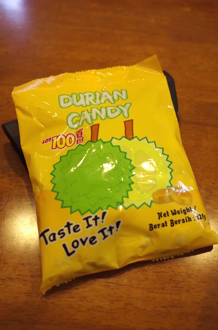ベトナムで買ったドリアンの飴ちゃん