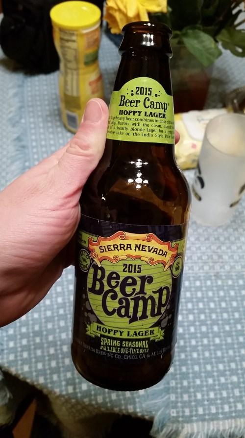 Beer Camp hoppy lager