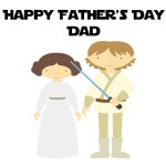 Free Star Wars Father's Day Printable