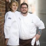 Chefs Kate and Matt Jennings of soon-to-be-open Townsman in Boston