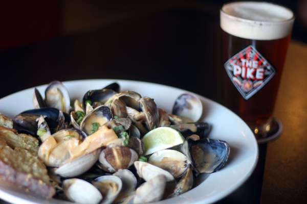 3. Mussels & Clams & Naughty Nellie C