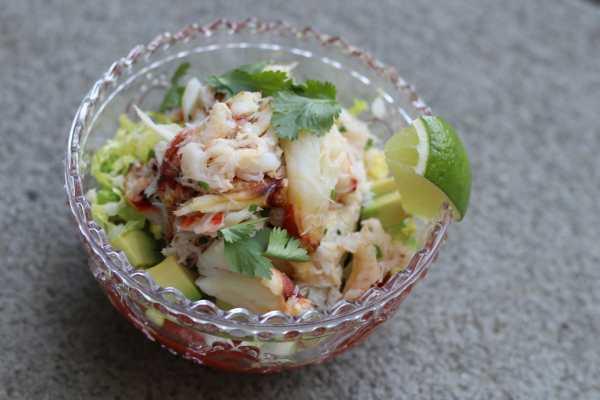 Dungeness Salad