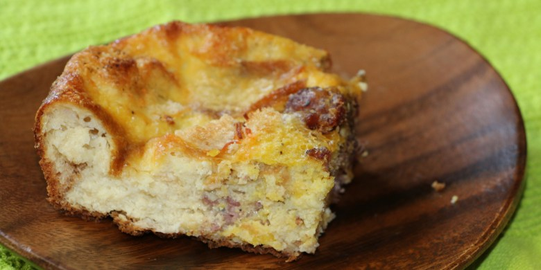 Sausage and Cheese Breakfast Casserole