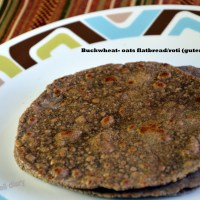 Meatless Monday- In quest of the perfect gluten-free flatbread/ roti