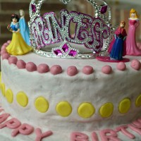 Made With Love- A Princess Birthday Cake (whole wheat, egg-free, natural colors)