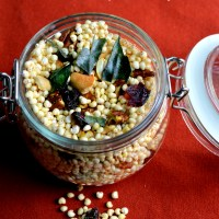 Millet Chivda - A Quick Whole-grain Savory Snack and Co-hosting Fiesta Friday #110