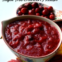 Sugar-free Cranberry Relish- A Thanksgiving Recipe