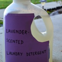 DIY Easy, 3-Ingredient, Non-Toxic Laundry Detergent (Lavender)